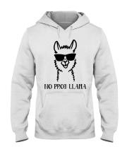 No Prob Llama Hooded Sweatshirt thumbnail