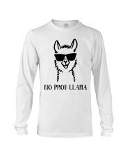 No Prob Llama Long Sleeve Tee thumbnail