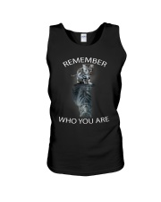 Remember Who You Are Unisex Tank thumbnail