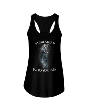 Remember Who You Are Ladies Flowy Tank thumbnail