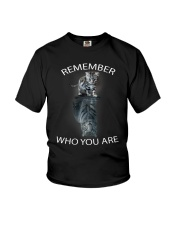 Remember Who You Are Youth T-Shirt thumbnail