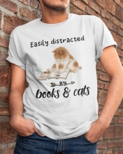 Books And Cats Classic T-Shirt apparel-classic-tshirt-lifestyle-26