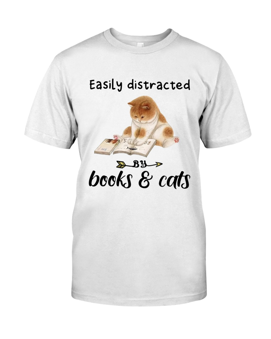 Books And Cats Classic T-Shirt