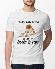 Books And Cats Classic T-Shirt lifestyle-mens-crewneck-front-13