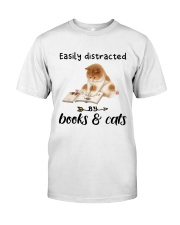 Books And Cats Premium Fit Mens Tee thumbnail