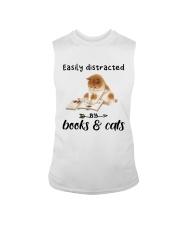 Books And Cats Sleeveless Tee thumbnail