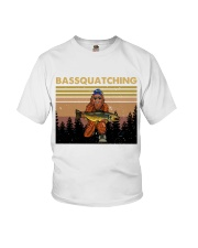 Bassquatching Youth T-Shirt thumbnail