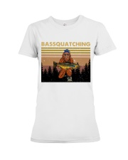 Bassquatching Premium Fit Ladies Tee thumbnail