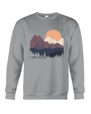 I Hate People 1 Crewneck Sweatshirt thumbnail