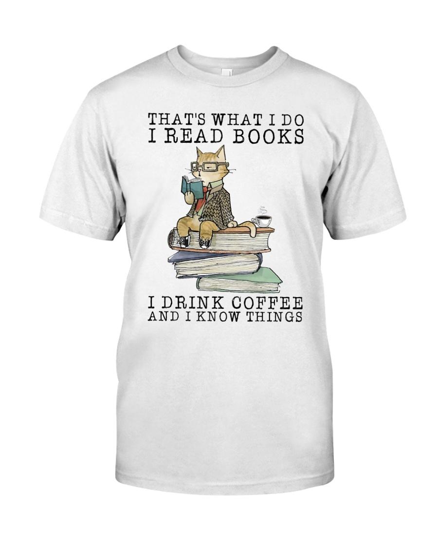 I Read Books Classic T-Shirt