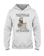 I Read Books Hooded Sweatshirt thumbnail