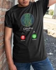 The Call Of Cthulhu Classic T-Shirt apparel-classic-tshirt-lifestyle-27