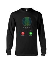 The Call Of Cthulhu Long Sleeve Tee thumbnail