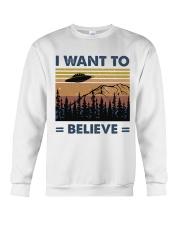 I Want To Believe Crewneck Sweatshirt thumbnail