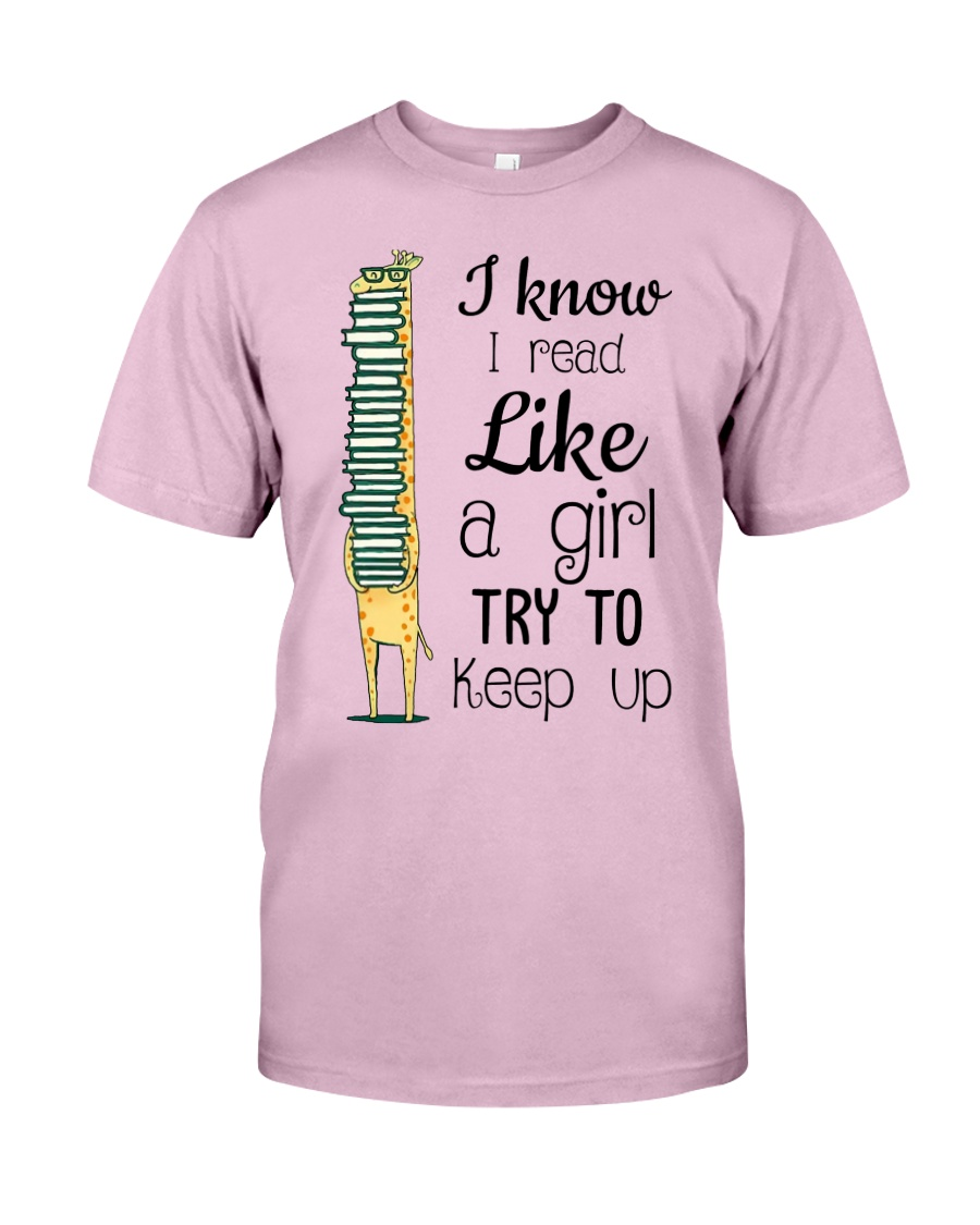 I Read Like A Girl Classic T-Shirt