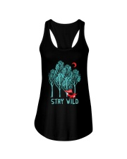 Stay Wild Ladies Flowy Tank thumbnail
