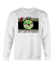 Get Lost In Forest Crewneck Sweatshirt thumbnail