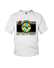 Get Lost In Forest Youth T-Shirt thumbnail