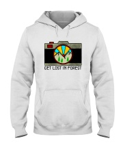 Get Lost In Forest Hooded Sweatshirt front