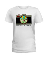 Get Lost In Forest Ladies T-Shirt thumbnail