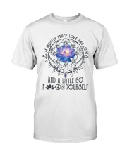 Peace Love And Light Classic T-Shirt thumbnail