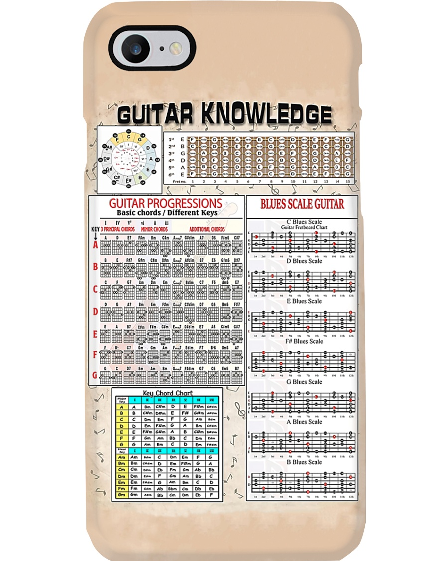 Guitar Knowledge Phone Case