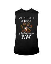 I Found Your Paw Sleeveless Tee thumbnail