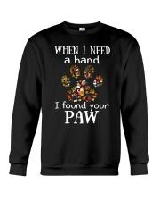 I Found Your Paw Crewneck Sweatshirt thumbnail