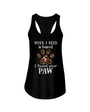 I Found Your Paw Ladies Flowy Tank thumbnail