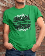 Hike More Worry Less Classic T-Shirt apparel-classic-tshirt-lifestyle-26