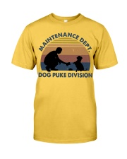 Dog Puke Division Classic T-Shirt front