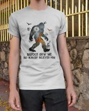 Bigfoot Saw Me Classic T-Shirt apparel-classic-tshirt-lifestyle-21