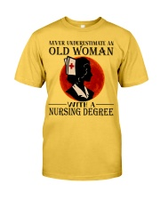 Nursing Degree Classic T-Shirt front