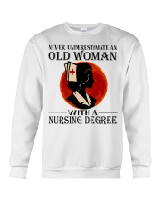 Nursing Degree Crewneck Sweatshirt thumbnail