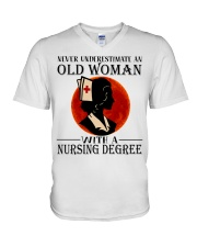 Nursing Degree V-Neck T-Shirt thumbnail