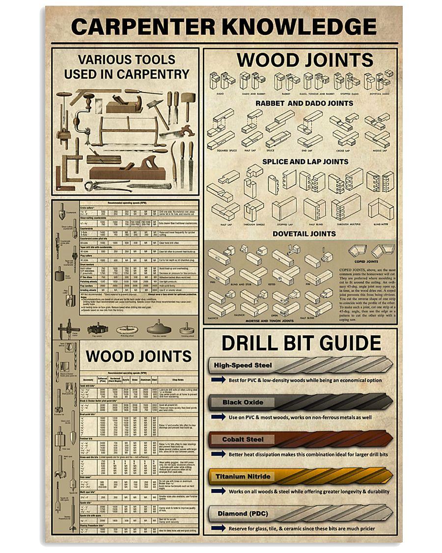 Carpenter Knowledge 11x17 Poster