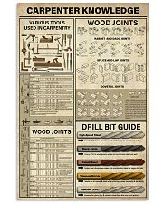Carpenter Knowledge 11x17 Poster front