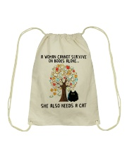 She Also Needs A Cat Drawstring Bag thumbnail