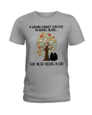 She Also Needs A Cat Ladies T-Shirt thumbnail
