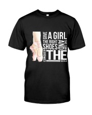 Give A Girl The Right Shoes Premium Fit Mens Tee thumbnail