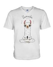 IIamaste V-Neck T-Shirt thumbnail