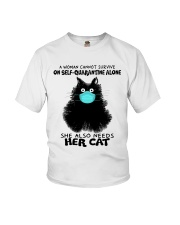 She Also Needs Her Cat Youth T-Shirt thumbnail