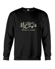 Keep It Simple Crewneck Sweatshirt thumbnail