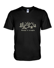 Keep It Simple V-Neck T-Shirt thumbnail
