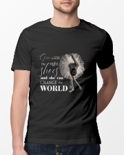 Give A Girl The Right Shoes Classic T-Shirt lifestyle-mens-crewneck-front-13