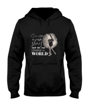 Give A Girl The Right Shoes Hooded Sweatshirt thumbnail