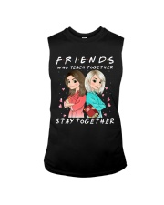 Friends Who Teach Togethers Sleeveless Tee thumbnail