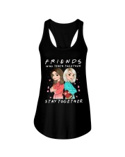 Friends Who Teach Togethers Ladies Flowy Tank thumbnail