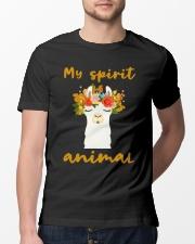 My8 Spirit Animal Classic T-Shirt lifestyle-mens-crewneck-front-13