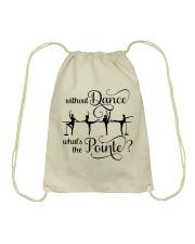Without Dance Drawstring Bag thumbnail